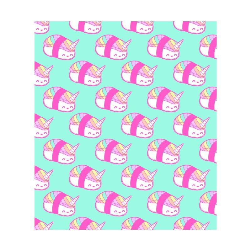 Unicorn Sushi Pattern Women's Cut & Sew by Tamara Lance