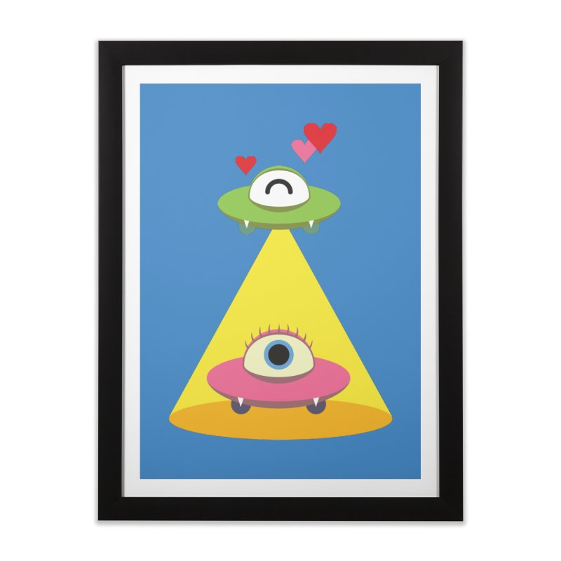 MIKA & NOBU Home Framed Fine Art Print by Sidewise Clothing & Design