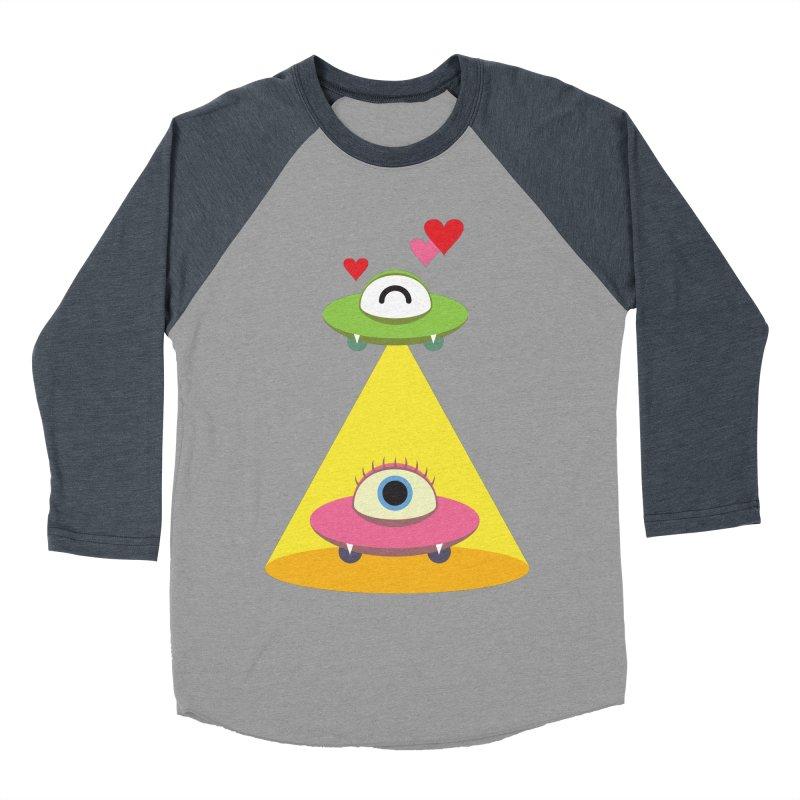 MIKA & NOBU Women's Baseball Triblend Longsleeve T-Shirt by Sidewise Clothing & Design