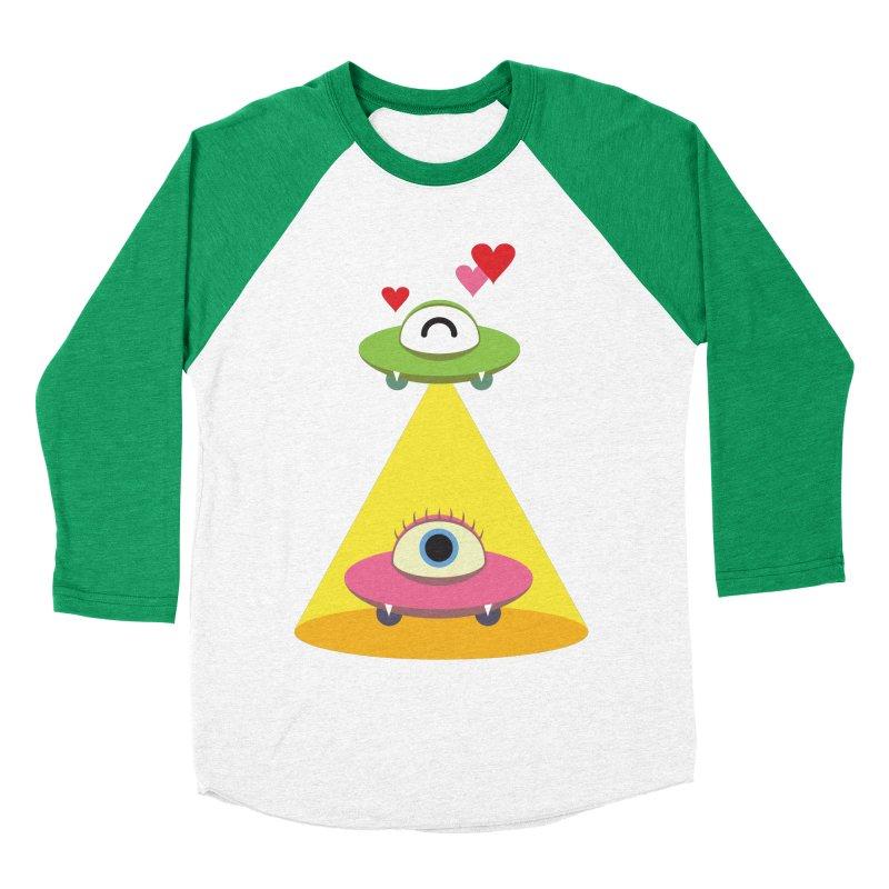 MIKA & NOBU Men's Baseball Triblend Longsleeve T-Shirt by Sidewise Clothing & Design