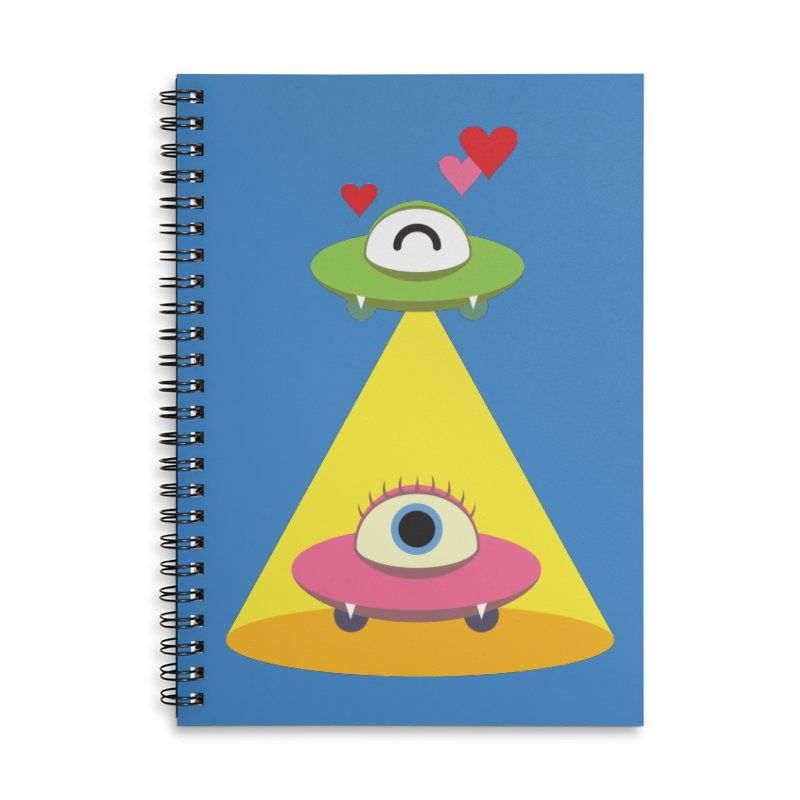 MIKA & NOBU Accessories Lined Spiral Notebook by Sidewise Clothing & Design