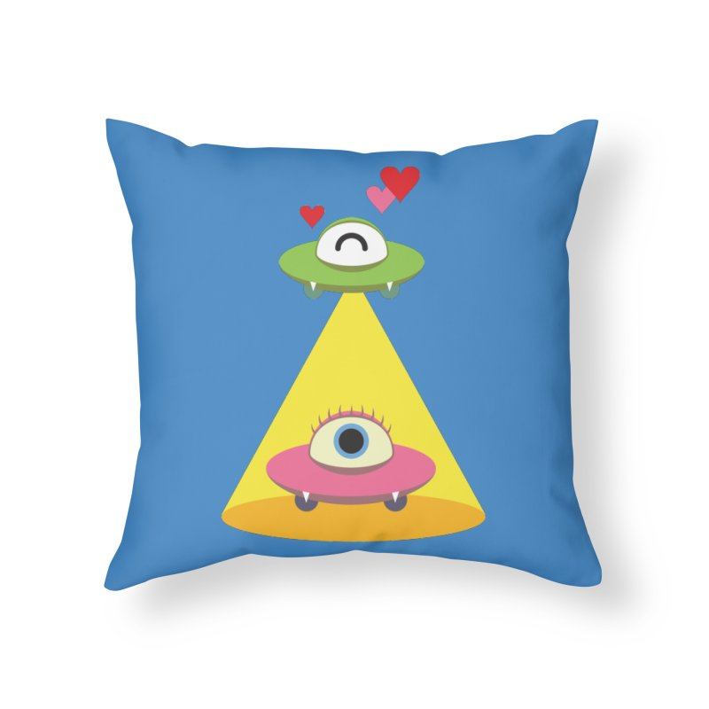 MIKA & NOBU Home Throw Pillow by Sidewise Clothing & Design