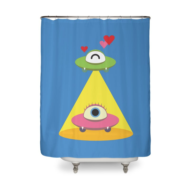 MIKA & NOBU Home Shower Curtain by Sidewise Clothing & Design