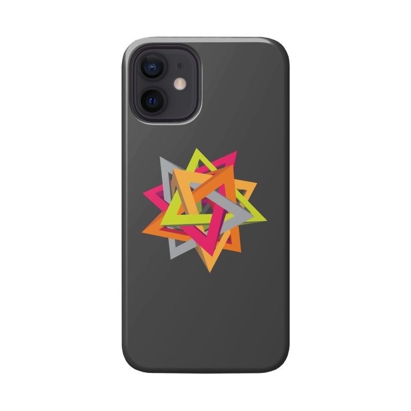 TANGLED TRIANGLES Accessories Phone Case by Sidewise Clothing & Design