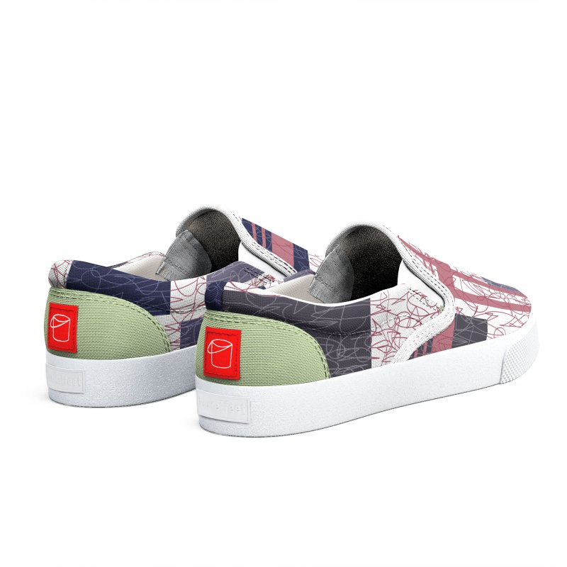 Conspiracy Men's Shoes by Tangerine Dusk By KA