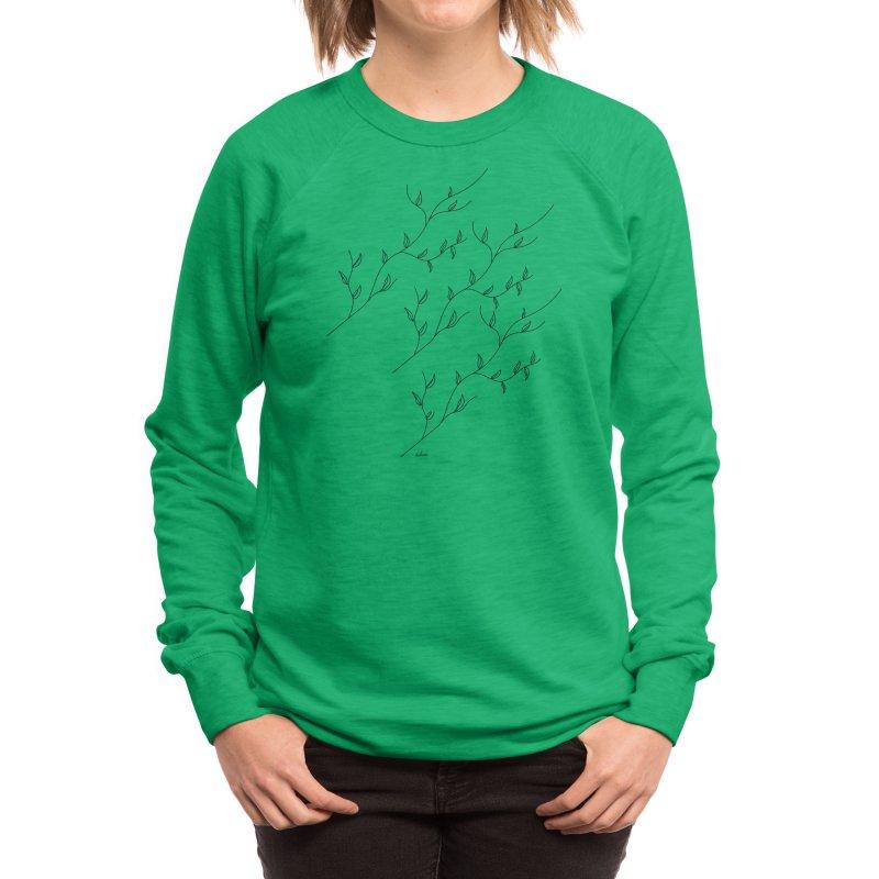 show-off - leaves Women's Sweatshirt by Tangerine Dusk By KA