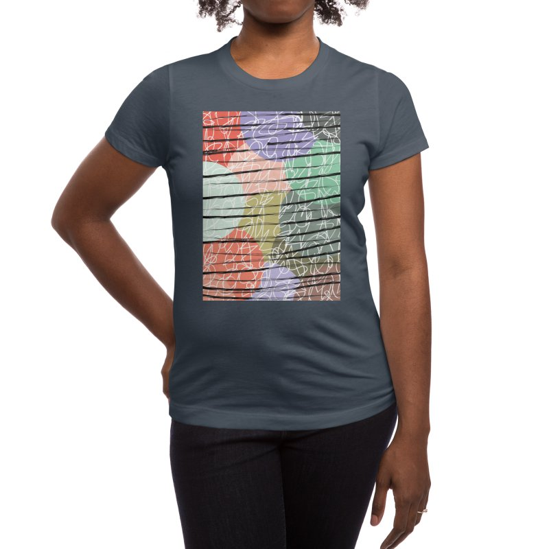 Scratched Shades Women's T-Shirt by Tangerine Dusk By KA