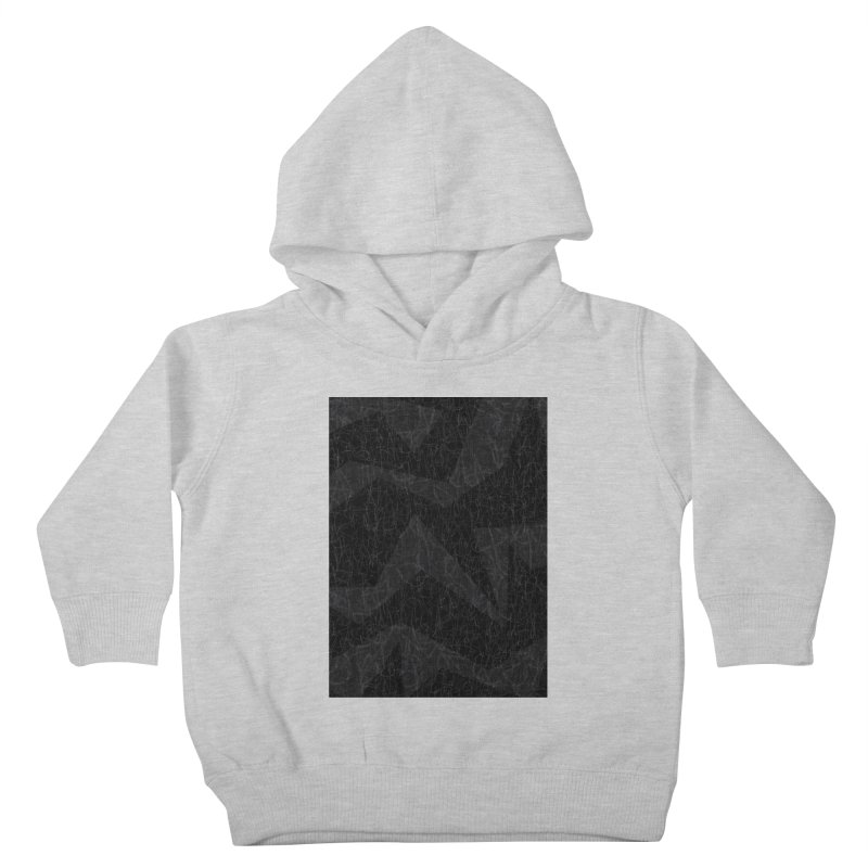 Grey | Chaos Kids Toddler Pullover Hoody by Tangerine Dusk By KA