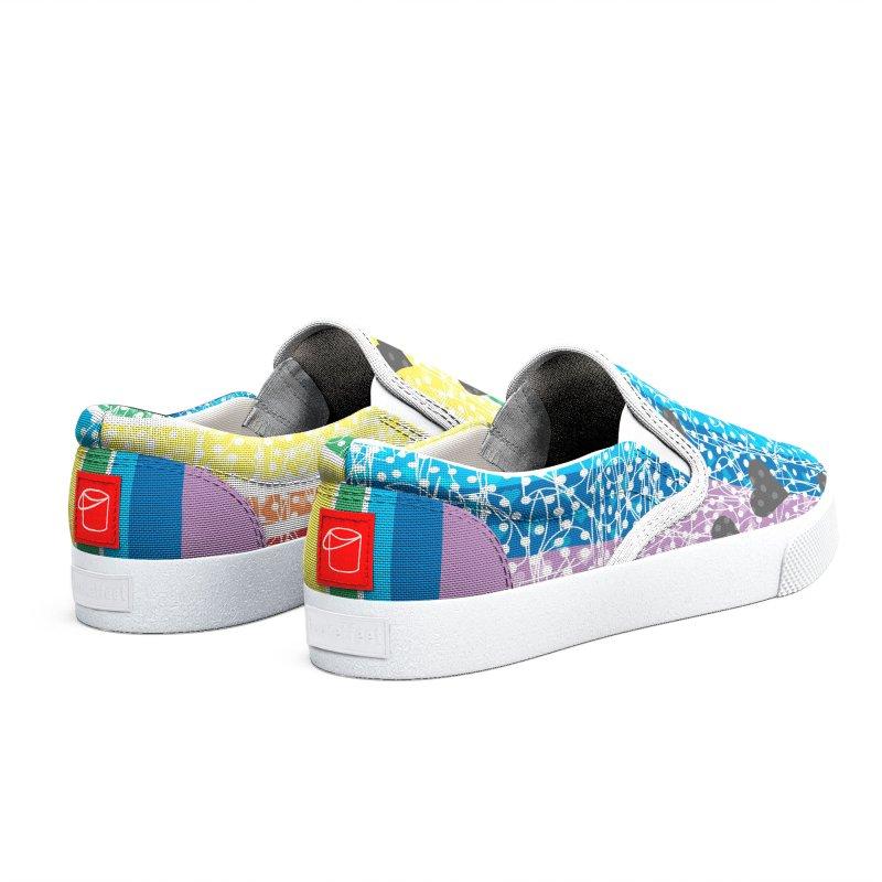 Rainbow Heart Women's Shoes by Tangerine Dusk By KA
