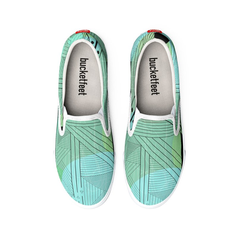 triangle lines Women's Shoes by Tangerine Dusk By KA