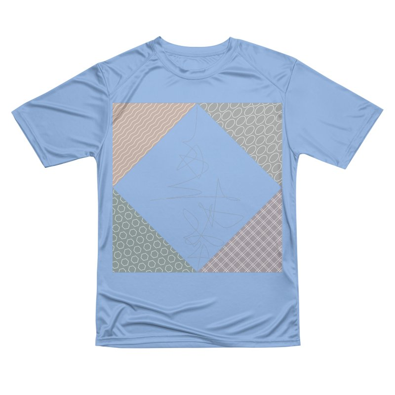 twisted square inverted Men's T-Shirt by Tangerine Dusk By KA
