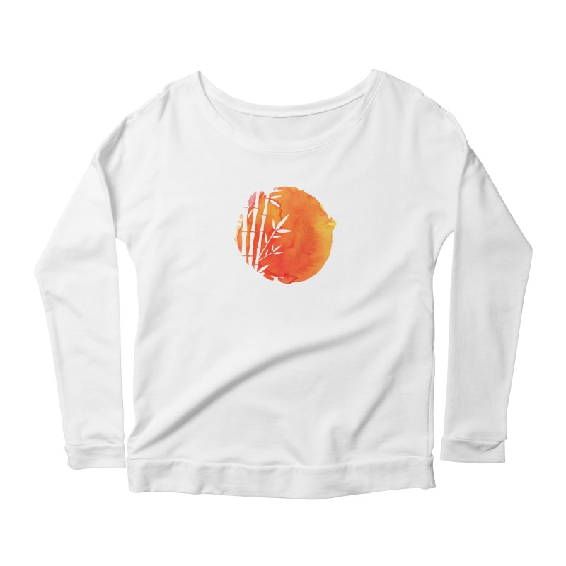 Tangoristo - Japanese Reading app logo Women's Scoop Neck Longsleeve T-Shirt by Tangoristo - Japanese Reading app shop
