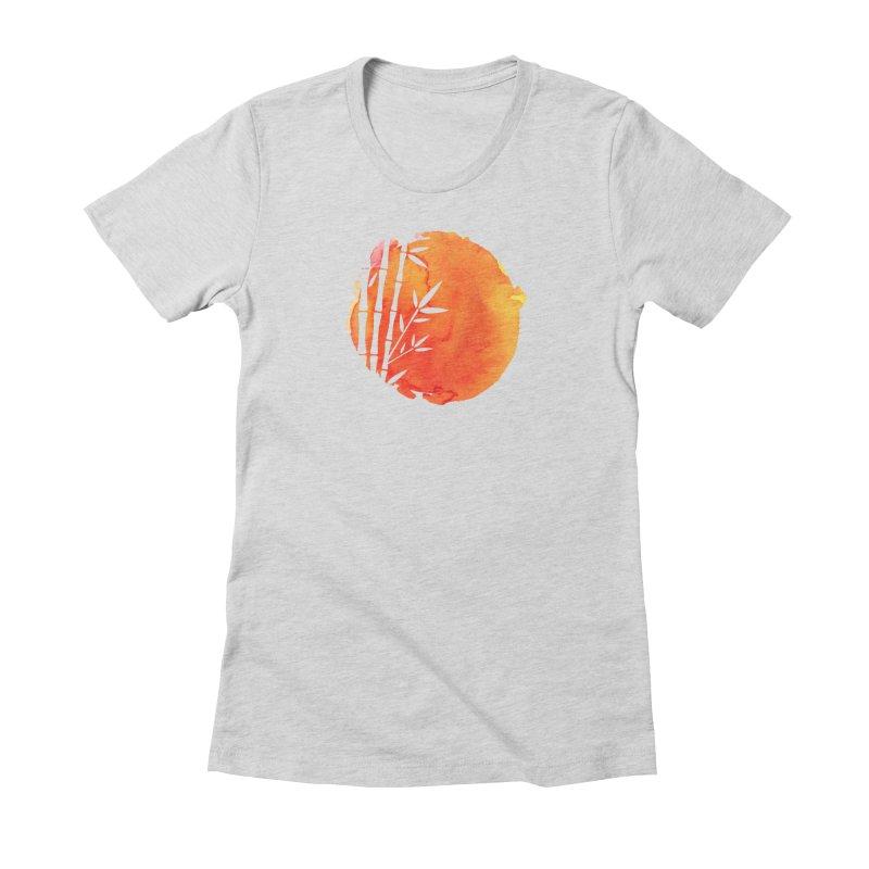Tangoristo - Japanese Reading app logo Women's Fitted T-Shirt by Tangoristo - Japanese Reading app shop