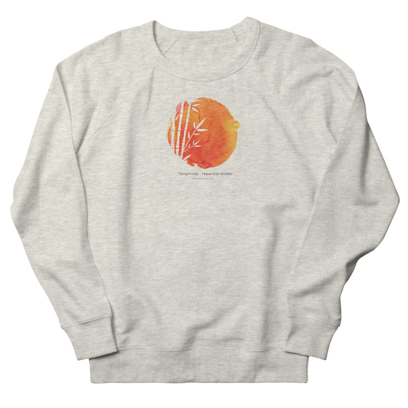 Tangoristo - Japanese Reading app logo with text Women's French Terry Sweatshirt by Tangoristo - Japanese Reading app shop