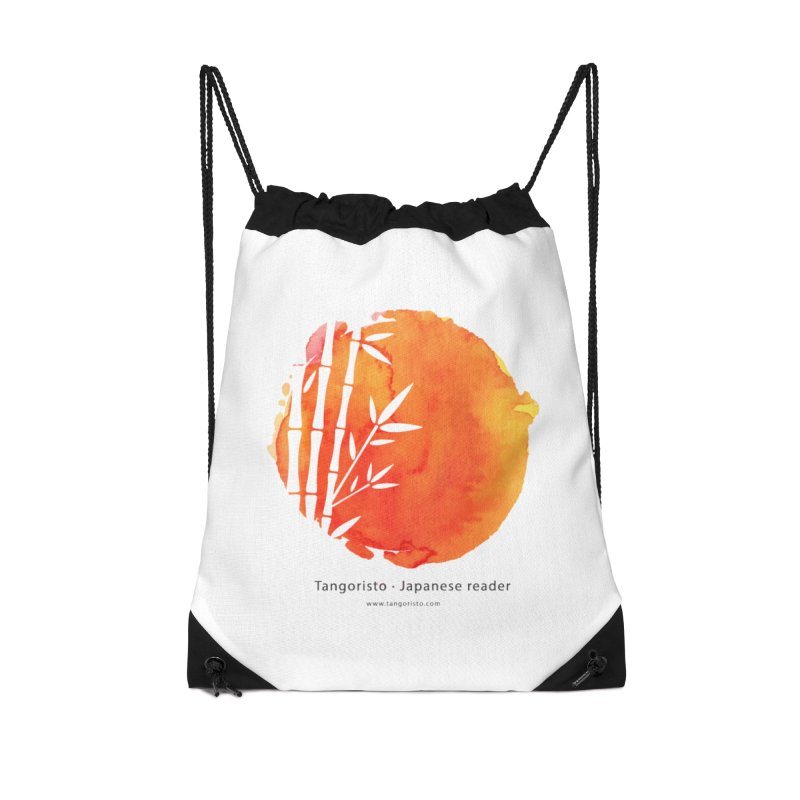 Tangoristo - Japanese Reading app logo with text Accessories Drawstring Bag Bag by Tangoristo - Japanese Reading app shop
