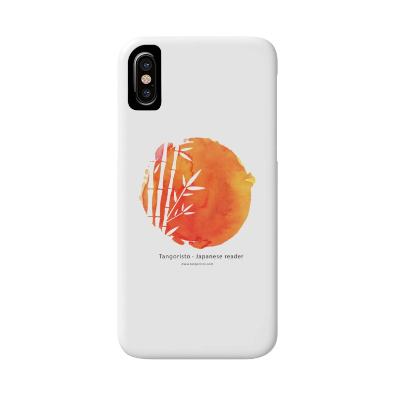 Tangoristo - Japanese Reading app logo with text Accessories Phone Case by Tangoristo - Japanese Reading app shop