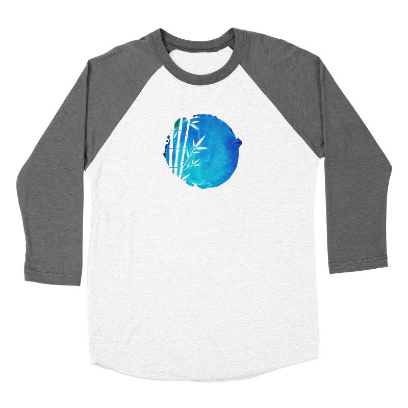 Tangoristo - Japanese Reader logo - Night mode Men's Baseball Triblend Longsleeve T-Shirt by Tangoristo - Japanese Reading app shop
