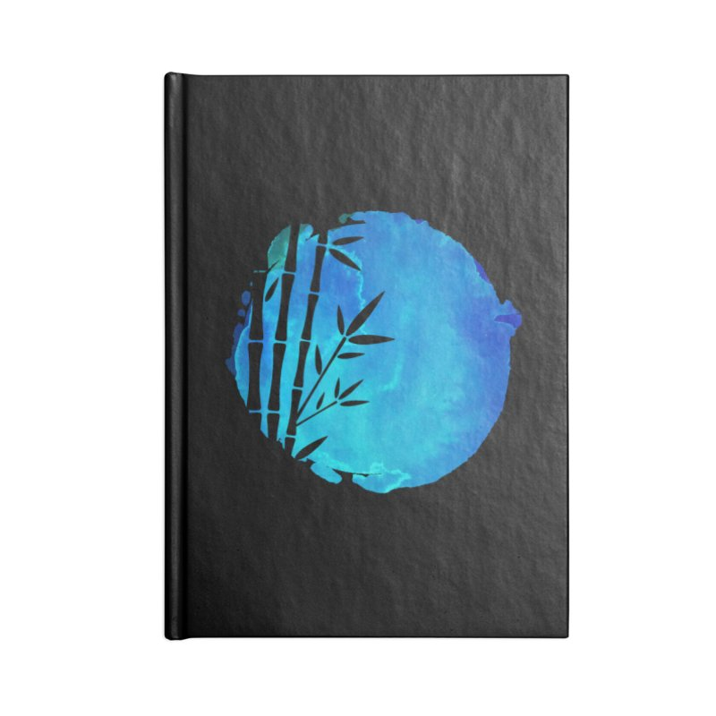 Tangoristo - Japanese Reader logo - Night mode Accessories Lined Journal Notebook by Tangoristo - Japanese Reading app shop