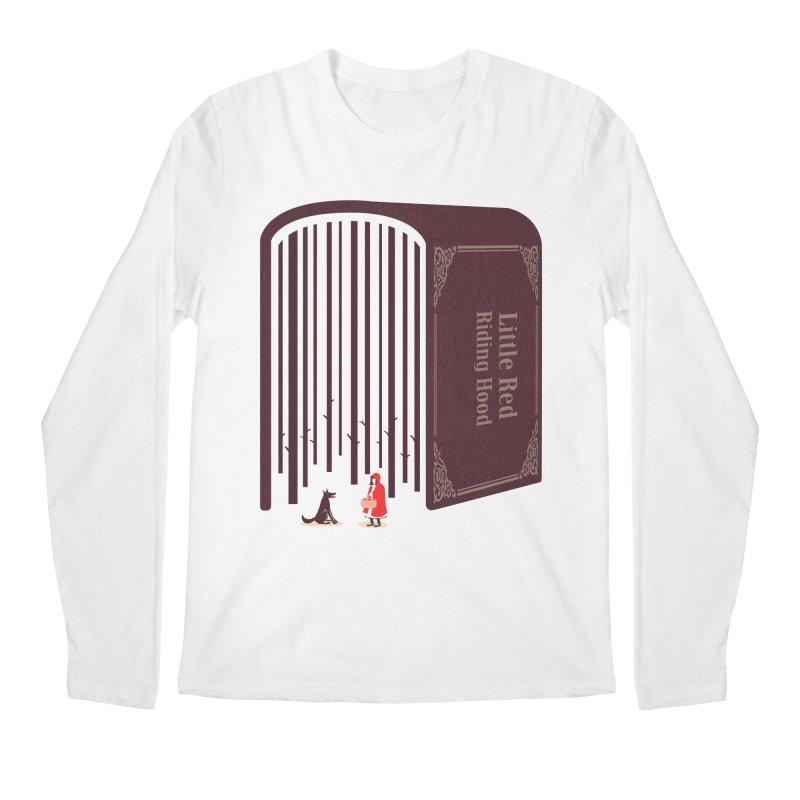 Little Red Riding Hood Men's Longsleeve T-Shirt by tangyauhoong's Artist Shop