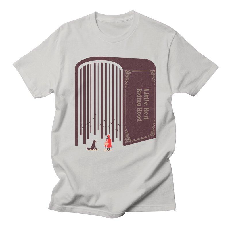 Little Red Riding Hood Men's T-Shirt by tangyauhoong's Artist Shop