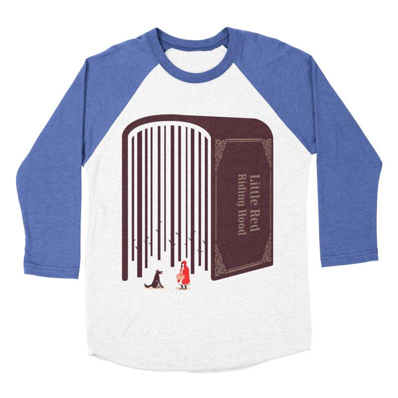 Little Red Riding Hood Women's Baseball Triblend T-Shirt by tangyauhoong's Artist Shop