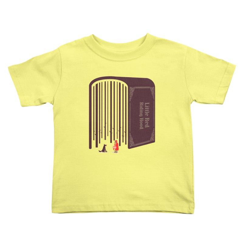 Little Red Riding Hood Kids Toddler T-Shirt by tangyauhoong's Artist Shop
