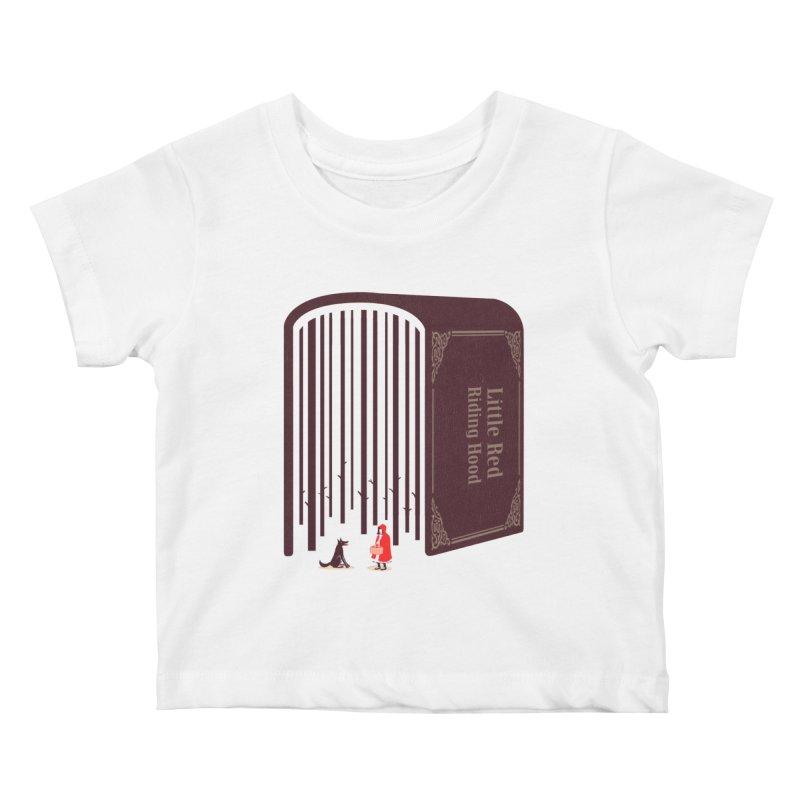 Little Red Riding Hood Kids Baby T-Shirt by tangyauhoong's Artist Shop