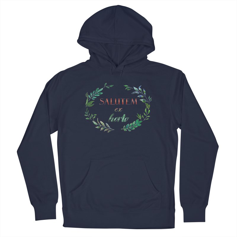 Greetings from the Garden! Men's Pullover Hoody by tanjica's Artist Shop