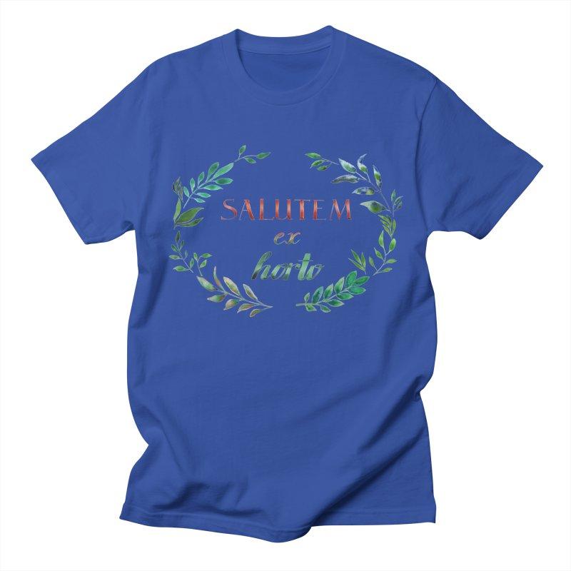 Greetings from the Garden! Women's Regular Unisex T-Shirt by tanjica's Artist Shop