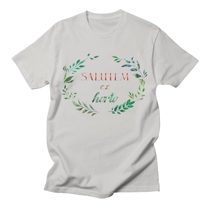 Greetings from the Garden! Women's Unisex T-Shirt by tanjica's Artist Shop