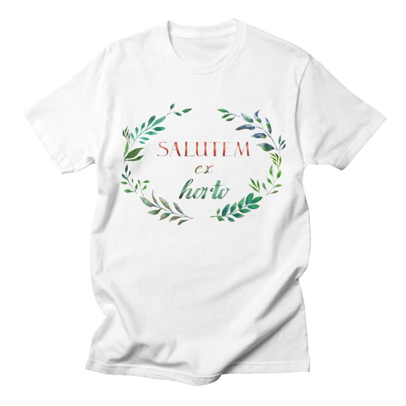 Greetings from the Garden! Women's Regular Unisex T-Shirt by tanjica's Artist Shop
