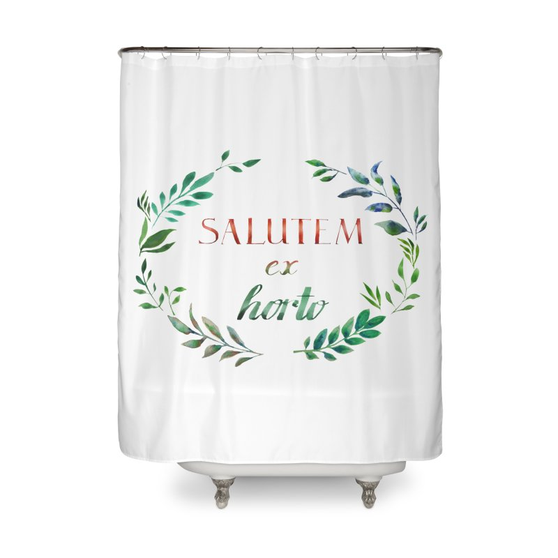 Greetings from the Garden! Home Shower Curtain by tanjica's Artist Shop