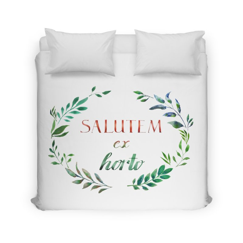 Greetings from the Garden! Home Duvet by tanjica's Artist Shop