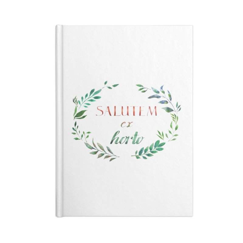 Greetings from the Garden! Accessories Notebook by tanjica's Artist Shop