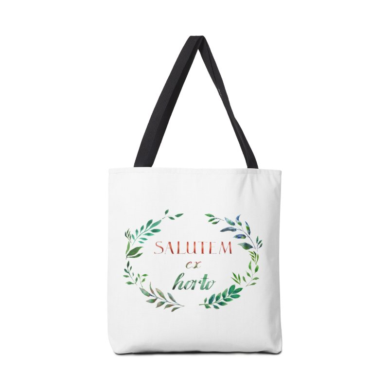 Greetings from the Garden! Accessories Bag by tanjica's Artist Shop