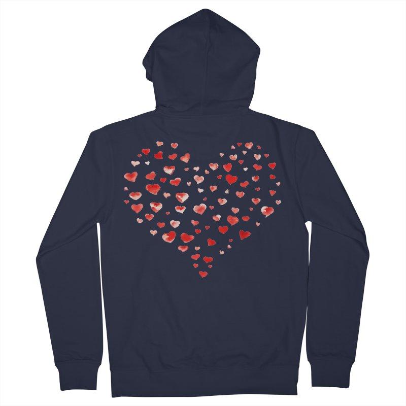 I Heart You Women's Zip-Up Hoody by tanjica's Artist Shop