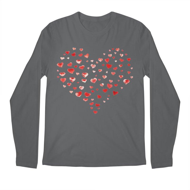 I Heart You Men's Regular Longsleeve T-Shirt by tanjica's Artist Shop