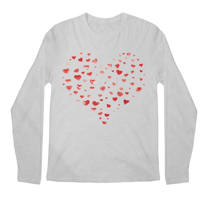 I Heart You Men's Longsleeve T-Shirt by tanjica's Artist Shop