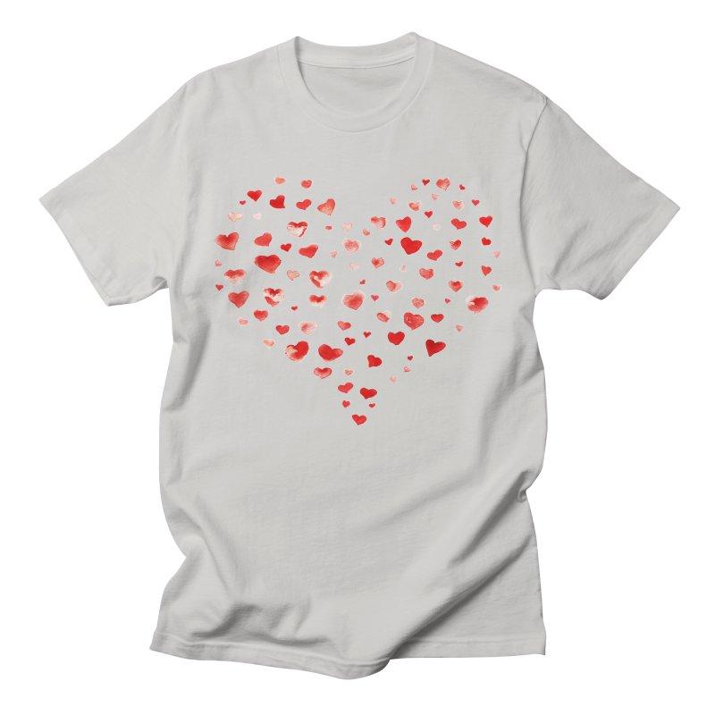 I Heart You Men's Regular T-Shirt by tanjica's Artist Shop