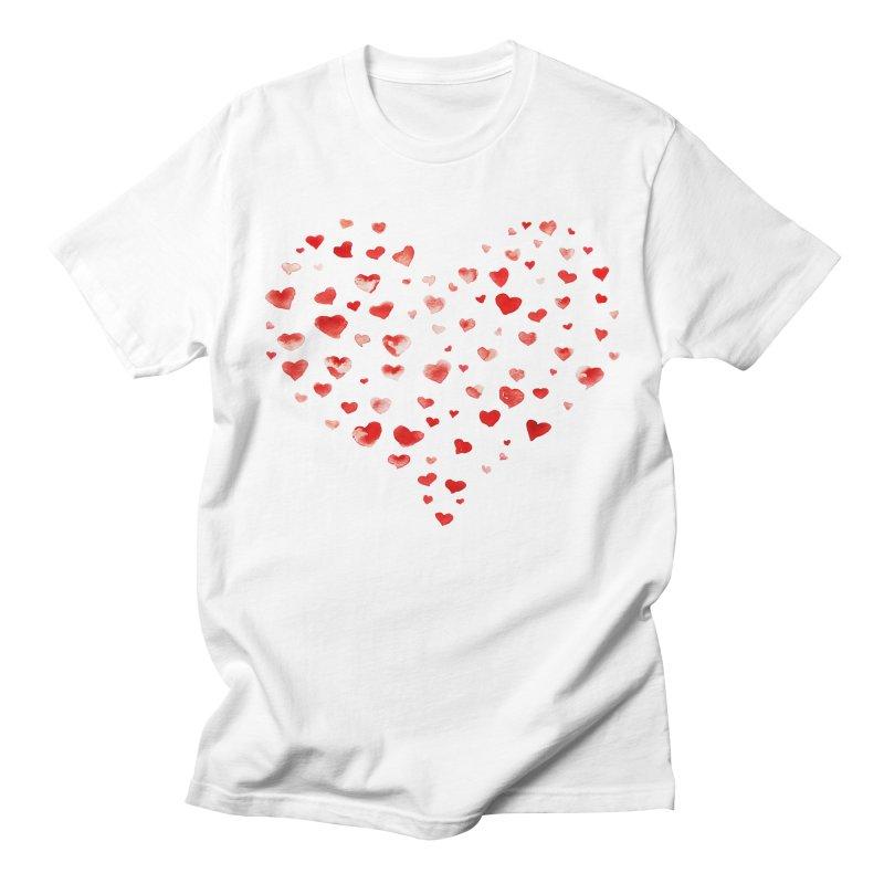 I Heart You Women's Regular Unisex T-Shirt by tanjica's Artist Shop