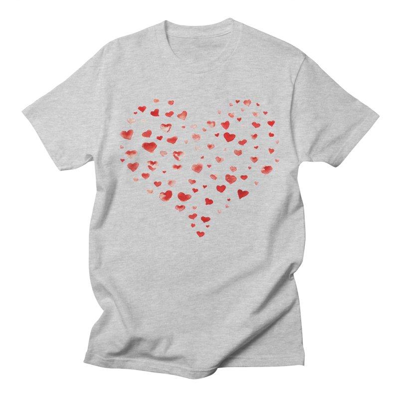 I Heart You Men's T-Shirt by tanjica's Artist Shop