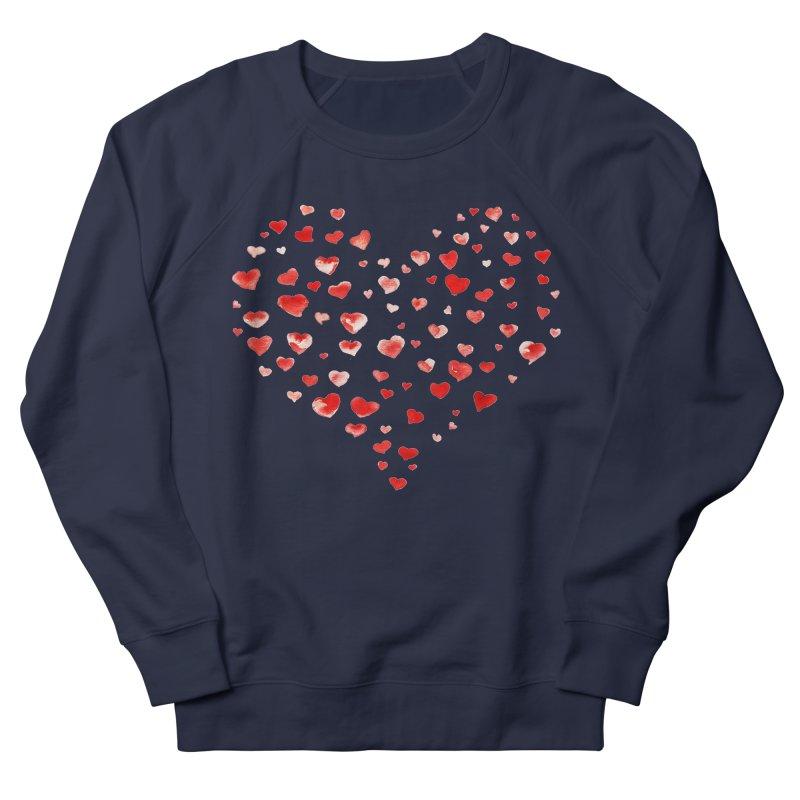 I Heart You Men's French Terry Sweatshirt by tanjica's Artist Shop