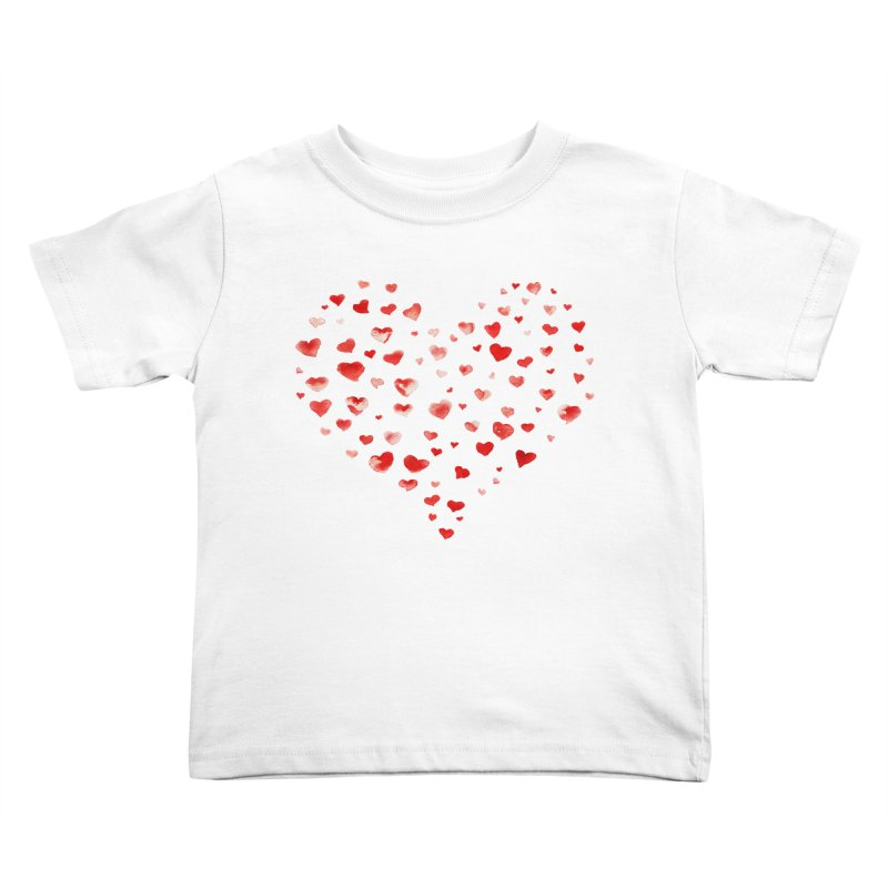I Heart You Kids Toddler T-Shirt by tanjica's Artist Shop