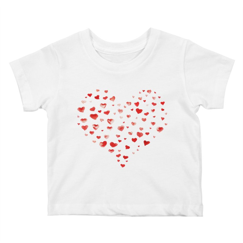 I Heart You Kids Baby T-Shirt by tanjica's Artist Shop