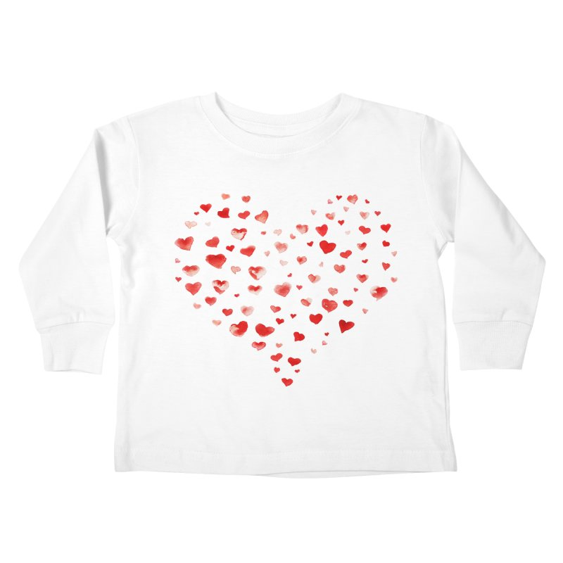 I Heart You Kids Toddler Longsleeve T-Shirt by tanjica's Artist Shop
