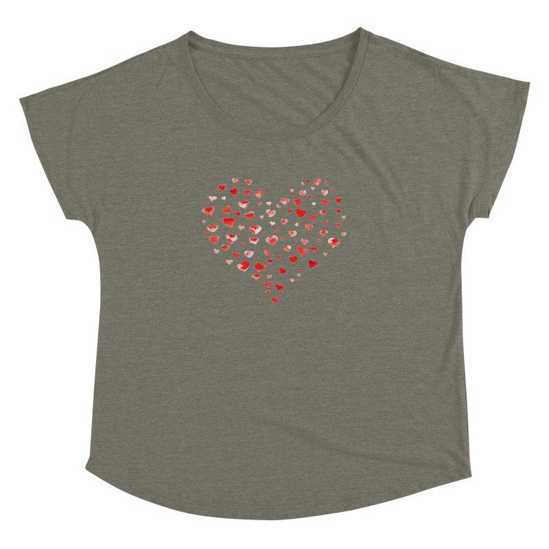 I Heart You Women's Dolman by tanjica's Artist Shop