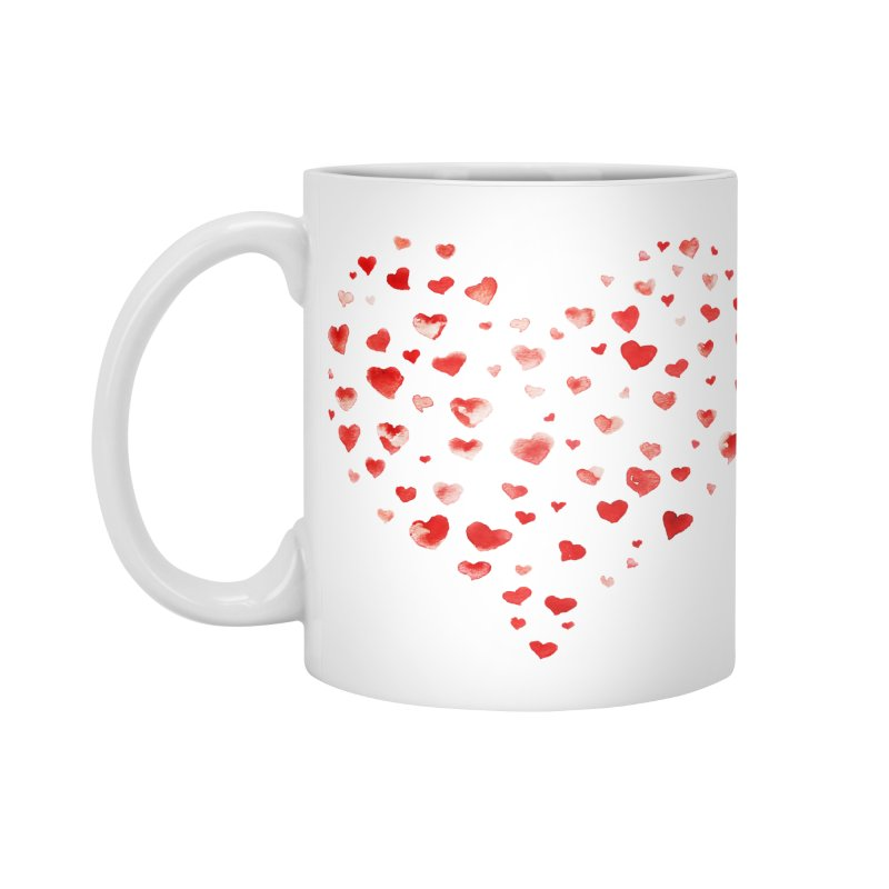 I Heart You Accessories Mug by tanjica's Artist Shop