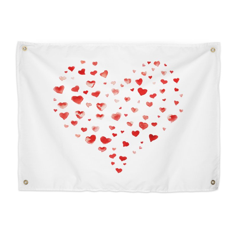 I Heart You Home Tapestry by tanjica's Artist Shop
