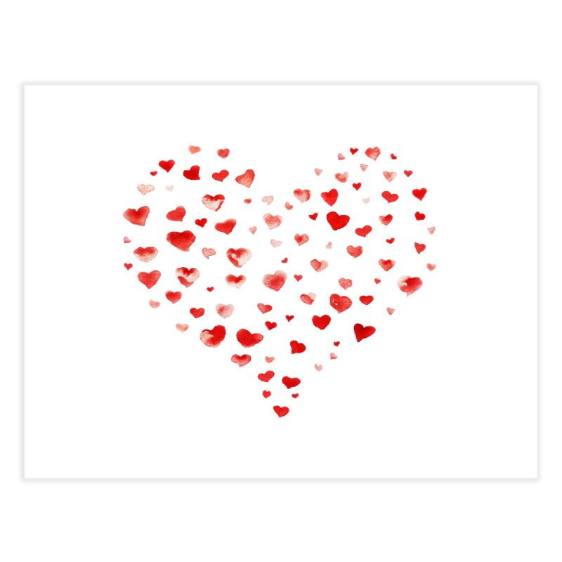 I Heart You Home Fine Art Print by tanjica's Artist Shop