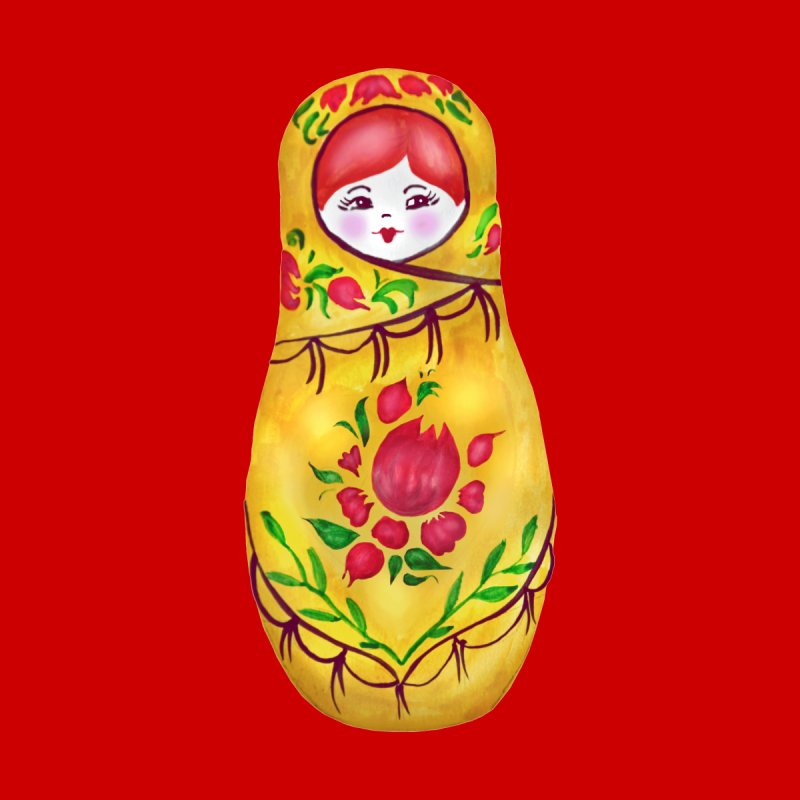 Russian Matryoshka Nesting Doll None  by tanjica's Artist Shop